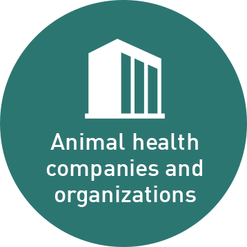 Animal health companies and organizations